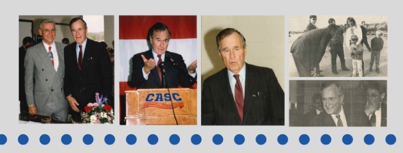CASC Remembers President Bush 002