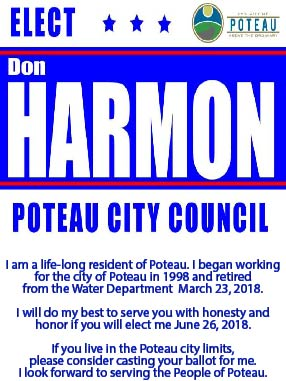 Don Harmon for city council ad