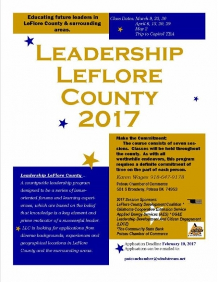 Registration begins for Leadership LeFlore County