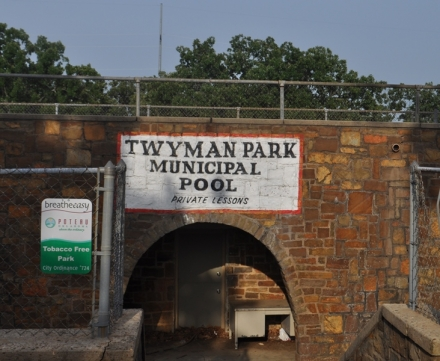 The Poteau city pool at Twyman Park will not open this year