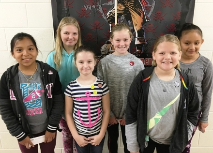 PUES Students of the Week for Oct. 29-Nov. 2