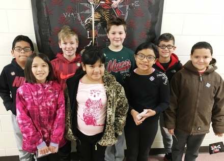 PUES Students of the Week for Dec. 3-7