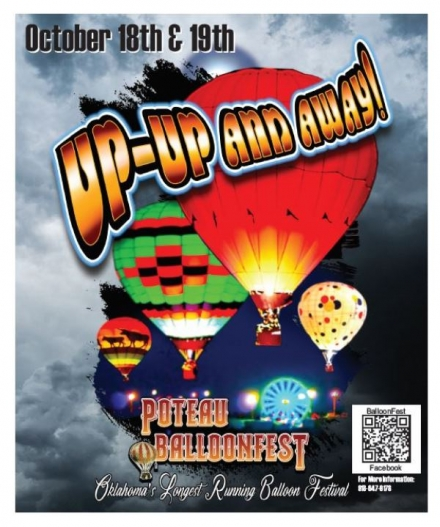 CHANNEL 40 FORECASTS POTEAU BALLOON FEST