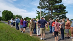 Two Monroe Churches conduct Prayer Walk