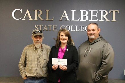 Heavener Masonic Lodge Donates to CASC Foundation for Scholars Program