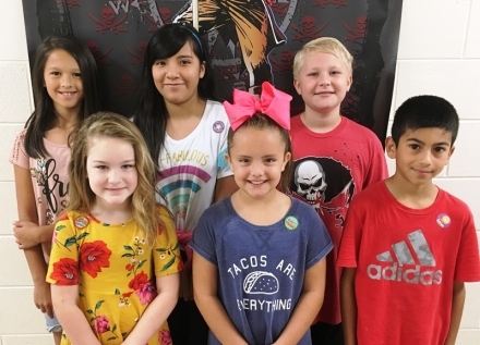 PUES Students of the Week for Oct. 1-5