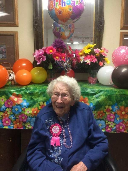 Local Resident celebrates 99th Birthday