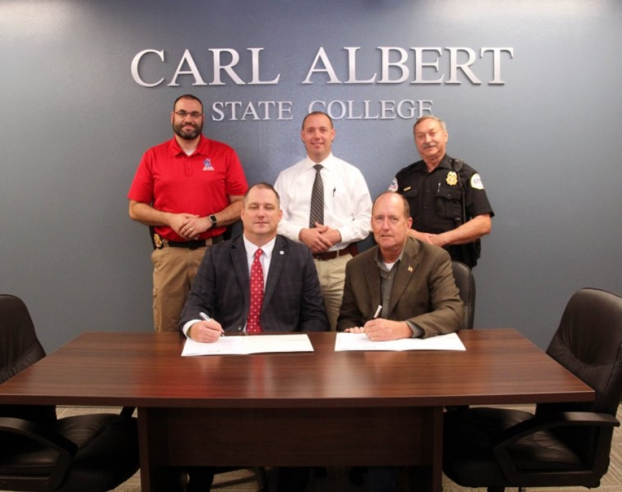 Carl Albert State College Police and Poteau City Police ...