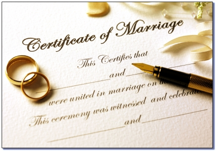 Marriage Licenses January 8-12, 2018
