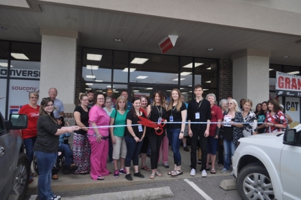 The Poteau Chamber of Commerce welcomes Shoe Sensation to Poteau