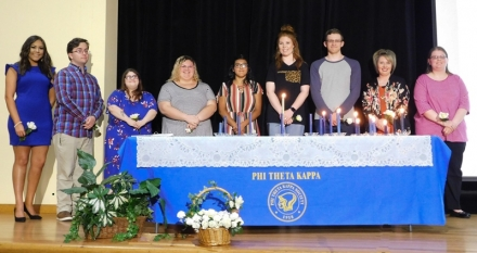 CASC Inducts 28 Students into Phi Theta Kappa Honor Society