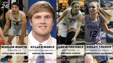 #theGAC BASKETBALL PLAYERS OF THE WEEK (NOVEMBER 26)