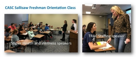 CASC-Sallisaw Orientation Class Welcomes Guest Speakers
