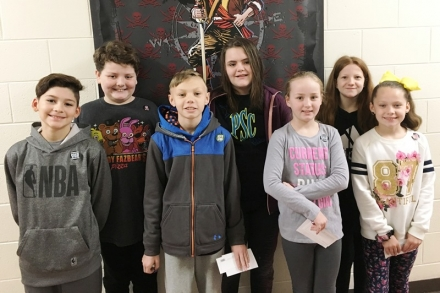 PUES Students of the week for Jan. 28-Feb. 1