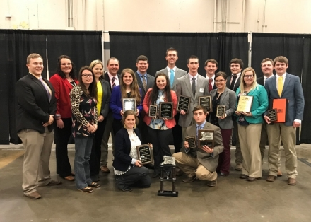 Eastern Judging Teams Place At 2018 Dixie National