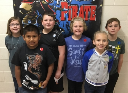 PUES Students of week for Oct. 30th-Nov. 3