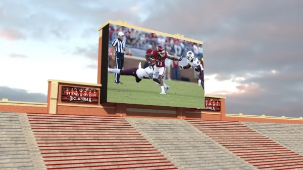 OU Regents Approve North Video Board Upgrade