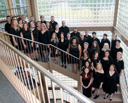 Carl Albert State College Concert Choir Performing Thursday, November 9, 2017