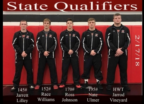 Photo of the Day: PHS Wrestling State Qualifiers