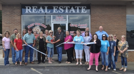 The Poteau Chamber of Commerce welcomes Just For You Properties