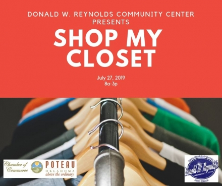 My Closet Event Coming To DWRCC