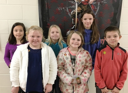 PUES Students of the week for Dec 17-20