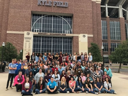 Tour of Texas 2017 - Eastern Oklahoma State College GEAR UP students at Texas A&M University-Commerce.