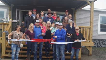 Chamber welcomes River Valley Manufactured Homes to Poteau
