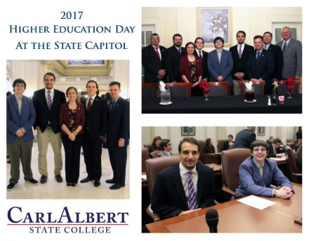 Carl Albert State College Represented at Annual Higher Education Day