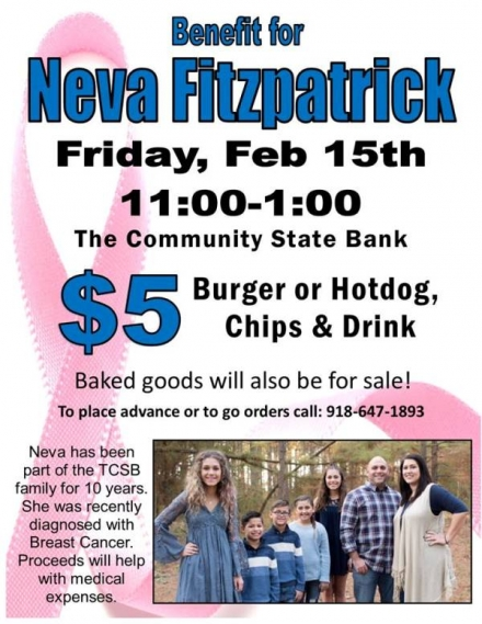 Benefit for Neva Fitzpatrick