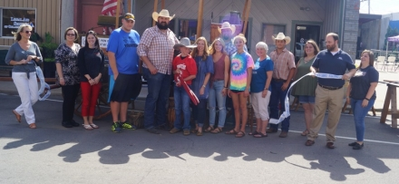 The Poteau Chamber of Commerce welcomes Horse Pen Ranch Chuck wagon as members