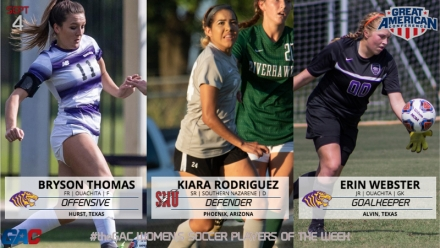 GAC WOMEN'S SOCCER WEEK ONE PLAYERS OF THE WEEK
