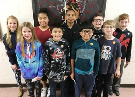 PUES Students of the Week for March 4th-8th