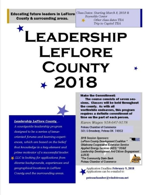 Sign up now for Leadership LeFlore County