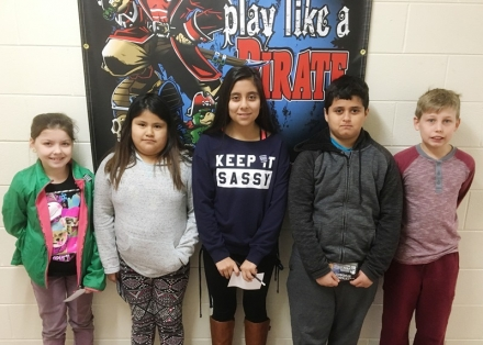 PUES STUDENTS OF THE WEEK FOR JAN 8 THROUGH 12