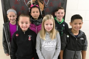 PUES Students of the week for Nov 12- 16