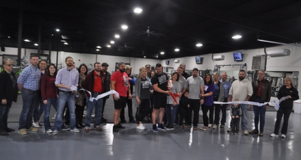Poteau Family Fitness Ribbon Cutting