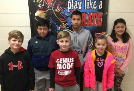 PUES Students of the Week for Feb 5th – 8th