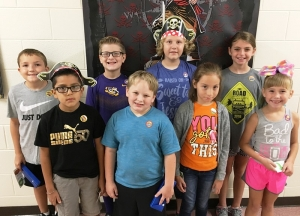 PUES Students of the week for August 20-24