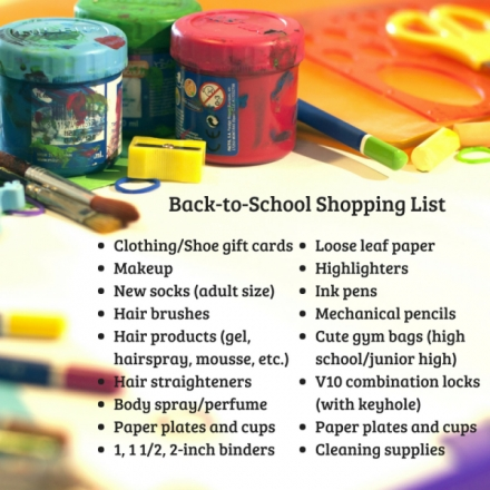 The Children's Emergency Shelter Gears Up for Back to School!