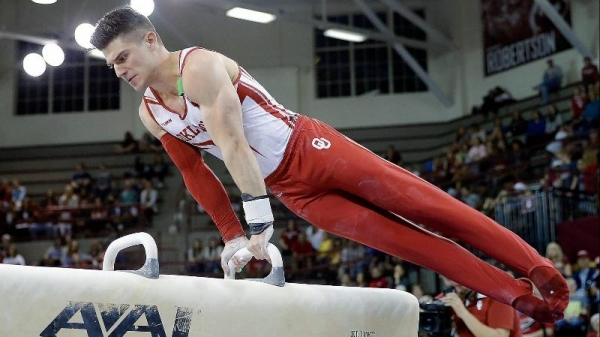 OU Men's Gymnastics: Sooner Storm Back to Complete Perfect Regular