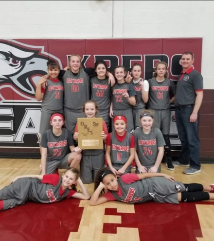 Lady Warriors Headed To ORES State Tournament
