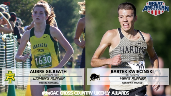 #theGAC CROSS COUNTRY WEEK FIVE RUNNERS OF THE WEEK